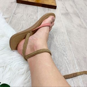 Reef Shoes - Reef Ankle Strap Slingback Open Tor Flat Sandals